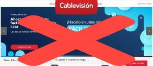 dar de baja cablevision flow 2020