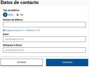 datos de contacto turno online anses