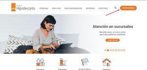 pagina del banco hipotecario