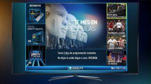 canal informativo directv canal 100