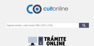 cuit online dni apellido nombre